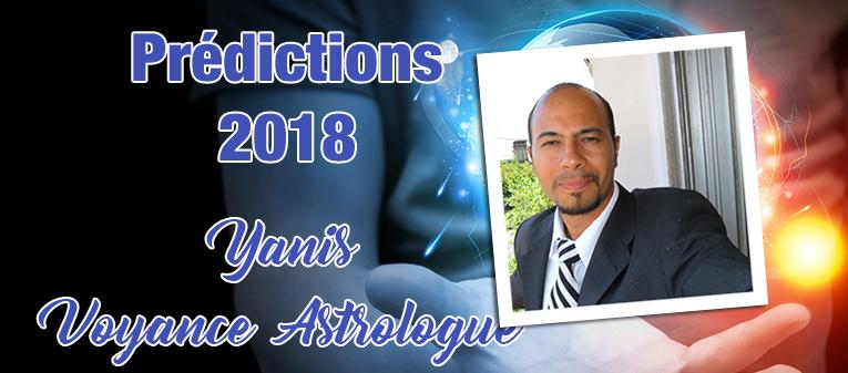 Prédictions 2018   Yanis Voyance Astrologue 02e4404db315