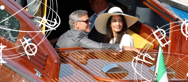 astrologie georges clooney et amal alamuddin un mariage c l br pour durer par yanis astro. Black Bedroom Furniture Sets. Home Design Ideas